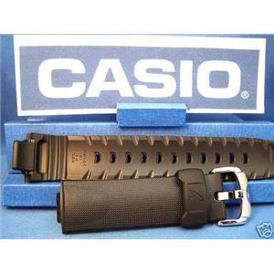 Casio Watch Band GW-1300 and  GW-1310. Black Resin G-Shock Strap