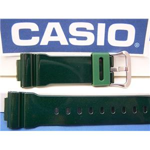 Casio Watch Band DW-6900 CC-3 Shiny Green G-Shock Watchband Strap