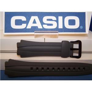 Casio Watch Band AQ-160 W-7 Gray Rubber Strap. Also fits AQ-163