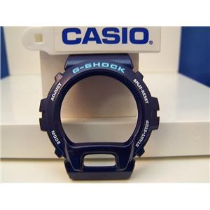 Casio Watch Parts DW-6900 CC-2 Bezel / Shell Metallic blue G-Shock