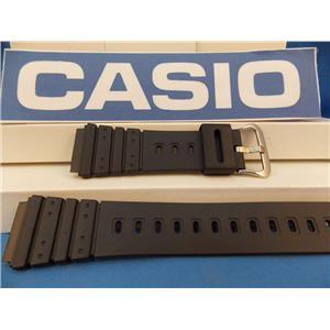 Casio Watch Band AQ-100. MRD-201 Steel buckle Original Black Resin Strap