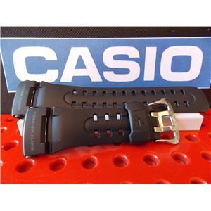 Casio Watch Band GW-400 J-1 Vibration Alarm Black Resin Strap Watchband