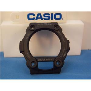 Casio Watch Parts G-7900 MS, GW-7900 BMS-1 Bezel / Shell Black w/Gray Letters