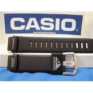 Casio Watch Band PAW-2000 PathFinder Orig black Rub Strap