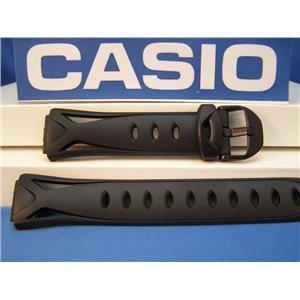 Casio watch band SPS-300 Casio Sea Pathfinder Black Resin Strap