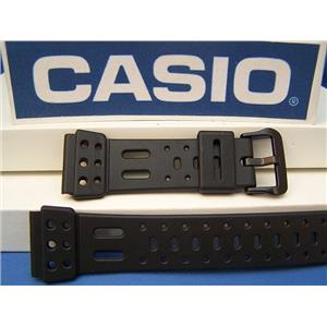 Casio Watch Band SDB-610 Dark Gray Rubber Lap-10 Memory Watchband -Strap