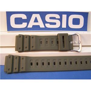 Casio Watch Band MQ-550 20mm Military Green Standard Fit Sport Diver Rub Strap