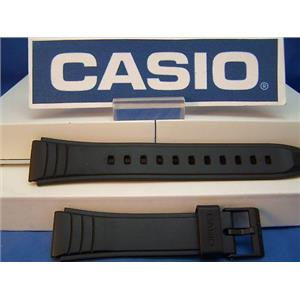 Casio Watch Band AW-49 Black Resin Strap Fits Most Any 19mm Wide Sport Watch