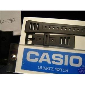 Casio Watch Band W-740.Casio Strap Could Fit Most Any 20mm Wide Mans Sport Watch