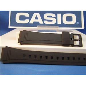 Casio watch band DB-36 Data Bank Black Resin Strap