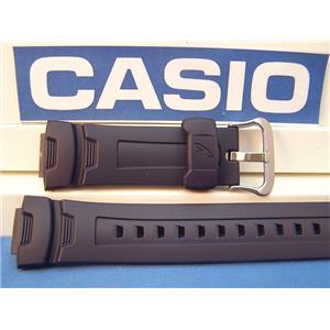 Casio Watch Band G-7500 -2, G-7510 -2, Dark blue Rubber G-Shock Strap