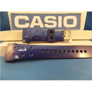 Casio Watch Band G-8000 -2 blue G-Shock Rubber Strap