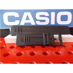 Casio Watch Band CA-56, LDF-40, DBC-V50, DB-V30 Black Resin Calculator Strap