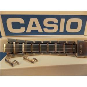 Casio Watch Band EFA-119 D Stainless Steel Silver Color Original Casio Bracelet