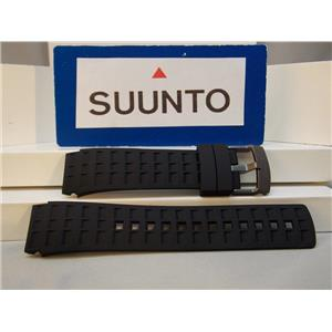 Suunto Watch Band ElementumTerra Black: Resin Strap/buckle w/Spring Bars