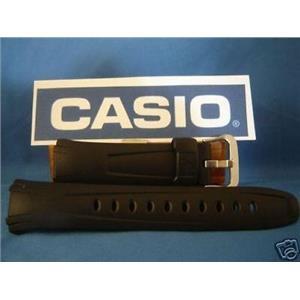 Casio watch band G-600, G-601, G-610, G-611.  G-Shock Black Resin Strap