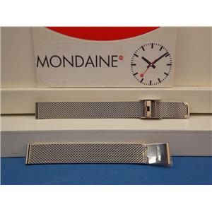 Mondaine Swiss Railways Watch Band FM8912  Bracelet 12mm Wide Steel  Mesh Ladies