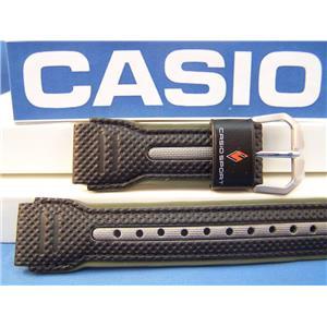 Casio watch band PAG-80 L-3,PRG-80 L-3,PRW-1000 L-3  black/Khaki/Silver 20mm