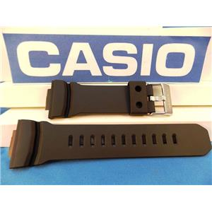 Casio Watch Band GA-100, GA-200, GA-201 Black Rubber Strap / Watchband