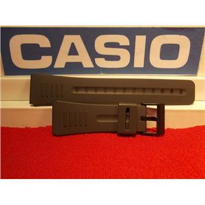 Casio watch band CMD-40 and DBC-30. Data Bank Dark Gray Strap