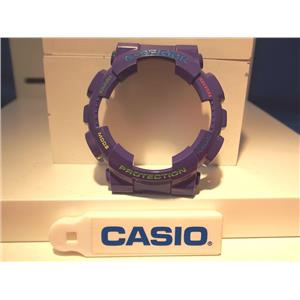Casio Watch Parts GA-110 HC-6A Bezel / Shell Purple. Red/grn/blue/yel Lettering