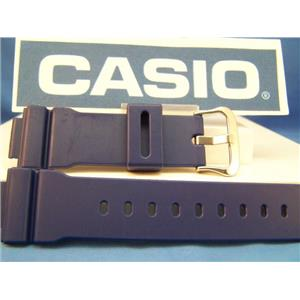 Casio Watch Band DW-9052 -2 blue Resin Strap
