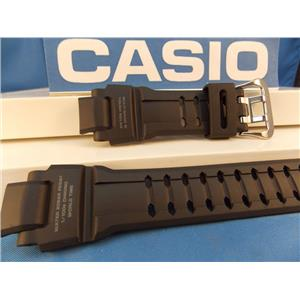 Casio Watch Band GW-4000 Black Rubber Strap Tough Solar Multi Band 6 G-Shock