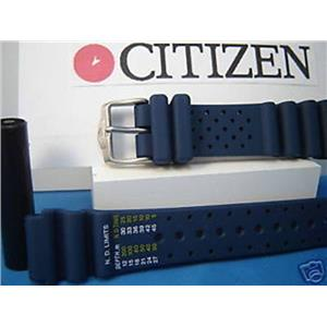 Citizen Watch Band Promaster blue.  20mm Diver Style Fits Most 20mm Wide Watches