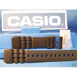Casio watch band W-87 With Attaching Pins. Fits Most Any Man's 19mm Wide Watch