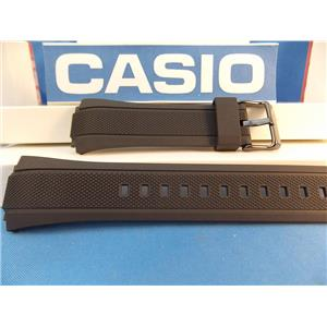 Casio Watch Band EFA-131 Edifice Black Resin Strap