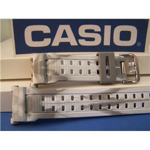 Casio Watch Band G-9000 MC-8 G-Shock Camouflage Gray/White Strap Watchband
