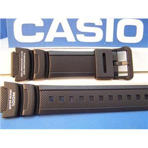 Casio Watch Band SGW-400 & SGW-300 Blk Rub Strap Twin Sensor Altimeter/Barometer