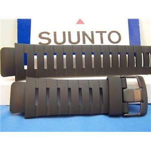 Suunto watch band Yachtsman / X-Lander Military Black Rubber Strap w/pin