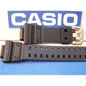 Casio Watch Band GXW-56 GB-1V.G-Shock Mud Resist Black Rub Strap gold tone buckl
