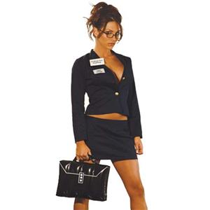 Real Estate Realtor Babe Sexy Adult Costume LG 10-14