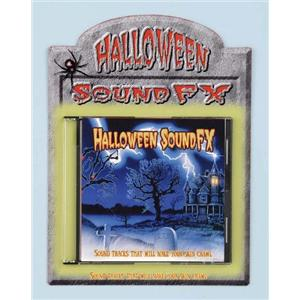 Halloween Horror Sound FX CD Halloween Scary Music Prop