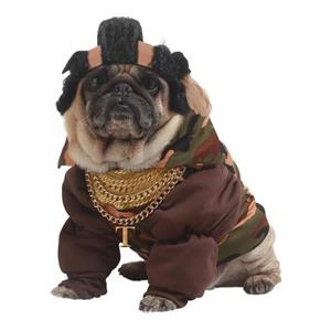 Pity the Fool Pet Costume Size XS