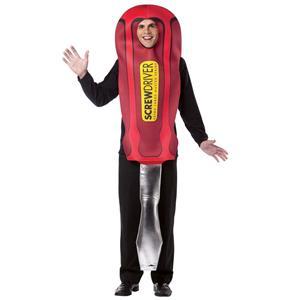 Men's Hard Wear Screwdriver Adult Costume