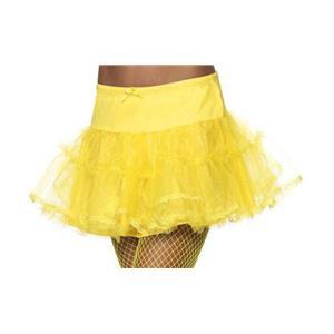 Yellow Tulle Petticoat Crinoline Costume Accessory