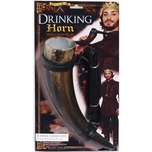 Medieval Fantasy French Drinking Horn Cup Viking Costume Accessory