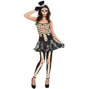 Women's Day of the Dead Female Adult Costume