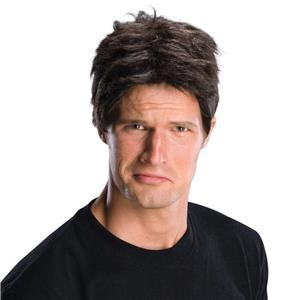 Idol Judge Short Brown Man Simon Cowell Wig