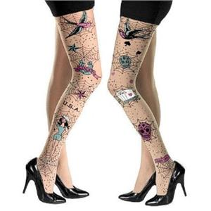 Rockabilly Pantyhose