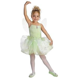 Tinkerbell Ballerina Child Costume Small 4-6