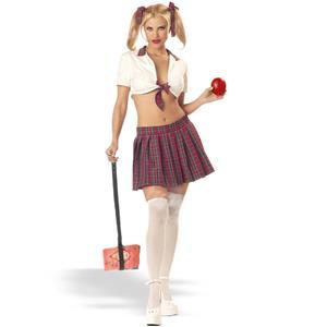 Sexy Teacher's Pet School Girl Adult Costume Large 10-12