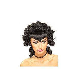 Black Gothic Queen Wig