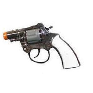 Plastic 8 Shot Detective Cap Pistol Costume Accessory