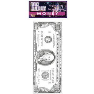 Big Daddy Oversized Fake 100 Dollar Bills Money Pad