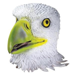 Deluxe Eagle Latex Adult Mask