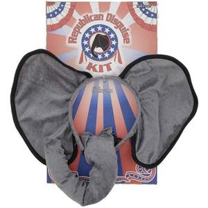 Republican Political Disguise Elephant Animal Costume Kit